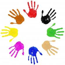 Child handprints