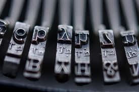 Typewiter keys inner